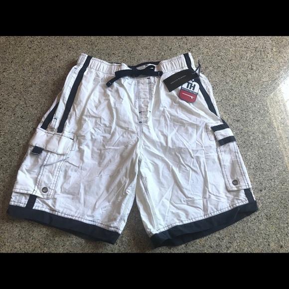 09d32ff7b2f41 Tommy Hilfiger Swim | Men Trunks White Small | Poshmark